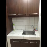 kitchen set apartemen margonda residence